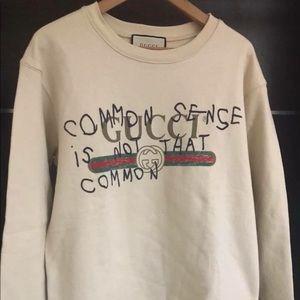 0afb8cf1268f Gucci Sweaters   Common Sense Sweatshirt   Poshmark